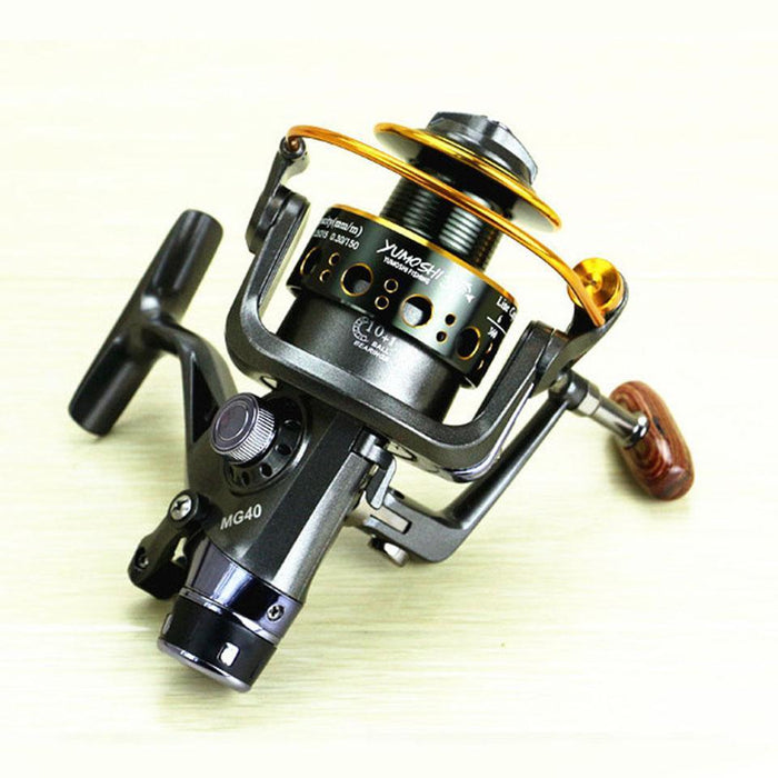Mg30-60 Fishing Reels 10+1Bb Metal Spinning Reel Fishing Carp Bait Cast Spinning-Spinning Reels-Mr. Fish Store-3000 Series-Bargain Bait Box