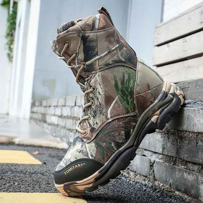 Military Army Men Boots Winter Lace Up Waterproof Combat Ankle Tactical Snow-Work & Safety Boots-Chun Du Factory Store-6-Bargain Bait Box