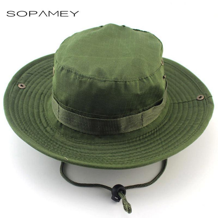 Military Bucket Hats Fishing Hunting Men T Safari Protection Hunter Cap With-Hats-Bargain Bait Box-Army Green-Bargain Bait Box