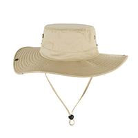 Military Camo Bucket Hats Fishing Hunting Men T Safari Sun Protection Hunter Cap-Hats-Bargain Bait Box-SOLID CREAM-Bargain Bait Box