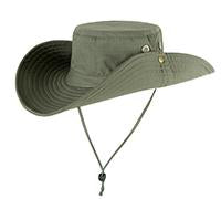 Military Camo Bucket Hats Fishing Hunting Men T Safari Sun Protection Hunter Cap-Hats-Bargain Bait Box-SOLID GREEN-Bargain Bait Box