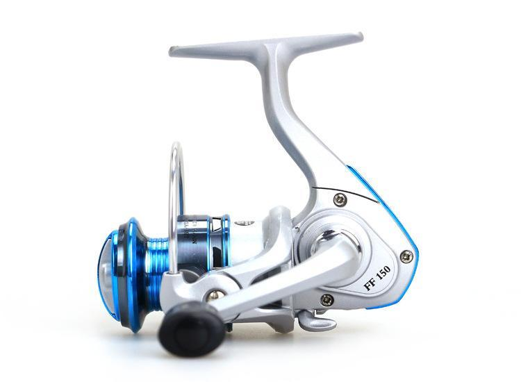 Mini Fishing Reels Ff150 Small Size Spinning Reel All Metal Rocker Arm-Spinning Reels-Even Sports-Bargain Bait Box