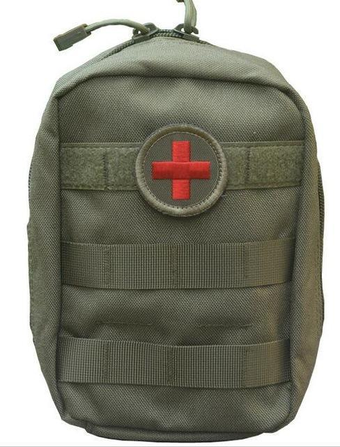 Mini Pouch First Aid Kit Survie Portable Survival Tactical Emergency First Aid-Emergency Tools & Kits-Bargain Bait Box-Bag and Medical Kits 1-Bargain Bait Box