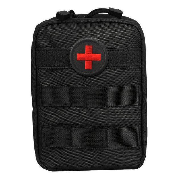 Mini Pouch First Aid Kit Survie Portable Survival Tactical Emergency First Aid-Emergency Tools & Kits-Bargain Bait Box-Empty Bag 1-Bargain Bait Box