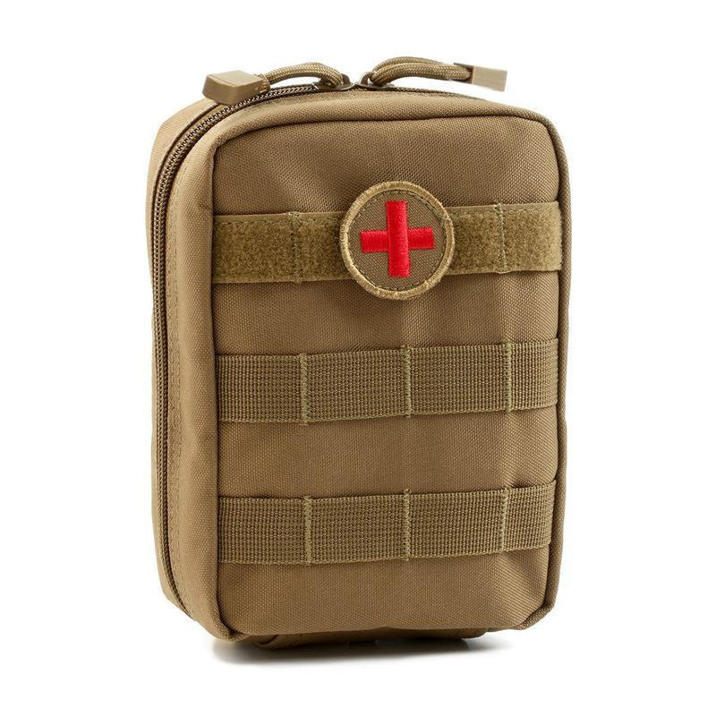 Mini Pouch First Aid Kit Survie Portable Survival Tactical Emergency First Aid-Emergency Tools & Kits-Bargain Bait Box-Empty Bag-Bargain Bait Box