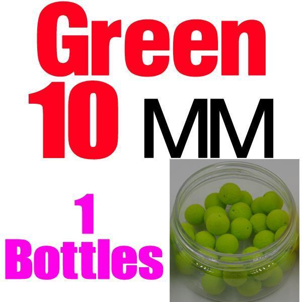Mnft 5 Kinds Shapes Boilies Carp Bait Floating Smell Lure Corn Flavor Artificial-MNFT Fishing Tackle 12 Store-10mm Green-Bargain Bait Box