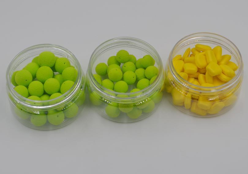 Mnft 5 Kinds Shapes Boilies Carp Bait Floating Smell Lure Corn Flavor Artificial-MNFT Fishing Tackle 12 Store-10mm Orange-Bargain Bait Box