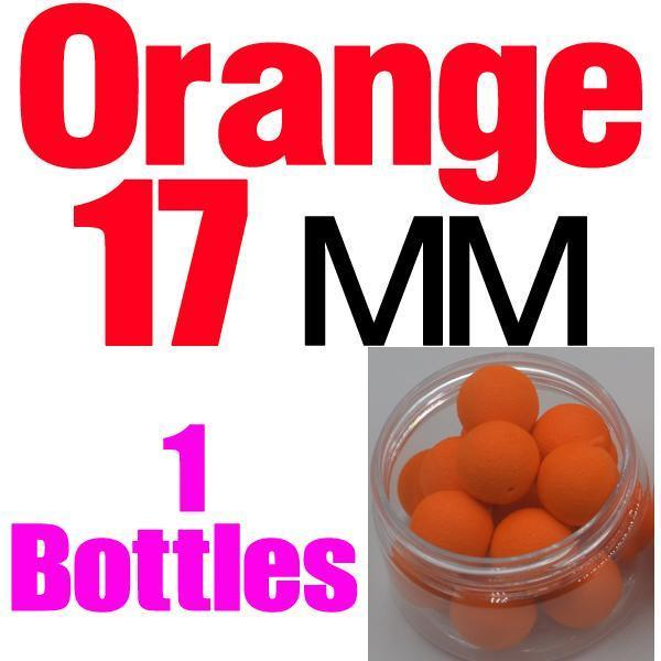 Mnft 5 Kinds Shapes Boilies Carp Bait Floating Smell Lure Corn Flavor Artificial-MNFT Fishing Tackle 12 Store-17mm Orange-Bargain Bait Box