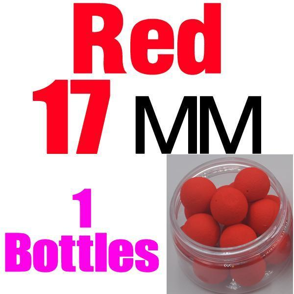 Mnft 5 Kinds Shapes Boilies Carp Bait Floating Smell Lure Corn Flavor Artificial-MNFT Fishing Tackle 12 Store-17mm Red-Bargain Bait Box