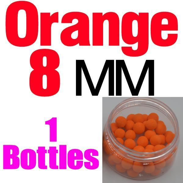 Mnft 5 Kinds Shapes Boilies Carp Bait Floating Smell Lure Corn Flavor Artificial-MNFT Fishing Tackle 12 Store-8mm Orange-Bargain Bait Box