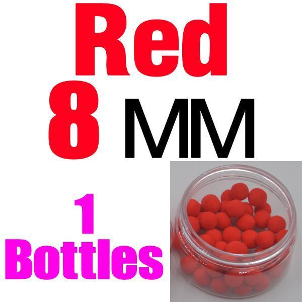 Mnft 5 Kinds Shapes Boilies Carp Bait Floating Smell Lure Corn Flavor Artificial-MNFT Fishing Tackle 12 Store-8mm Red-Bargain Bait Box
