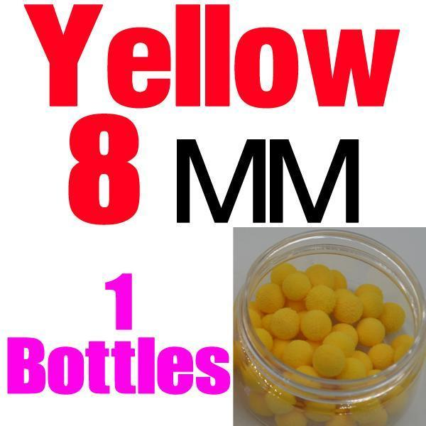Mnft 5 Kinds Shapes Boilies Carp Bait Floating Smell Lure Corn Flavor Artificial-MNFT Fishing Tackle 12 Store-8mm Yellow-Bargain Bait Box