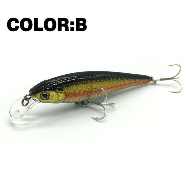 Mr.Charles Cmc019 Fishing Lure 80Mm/9G 0-1M Floating Super Sinking Minnow Hard-MrCharles-COLOR B-Bargain Bait Box
