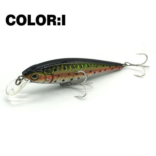Mr.Charles Cmc019 Fishing Lure 80Mm/9G 0-1M Floating Super Sinking Minnow Hard-MrCharles-COLOR I-Bargain Bait Box