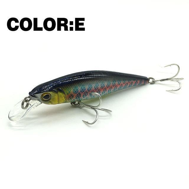 Mr.Charles Cmc021 Fishing Lure 95Mm/13.5G 0-1.0M Floating Super Sinking Minnow-MrCharles-COLOR E-Bargain Bait Box