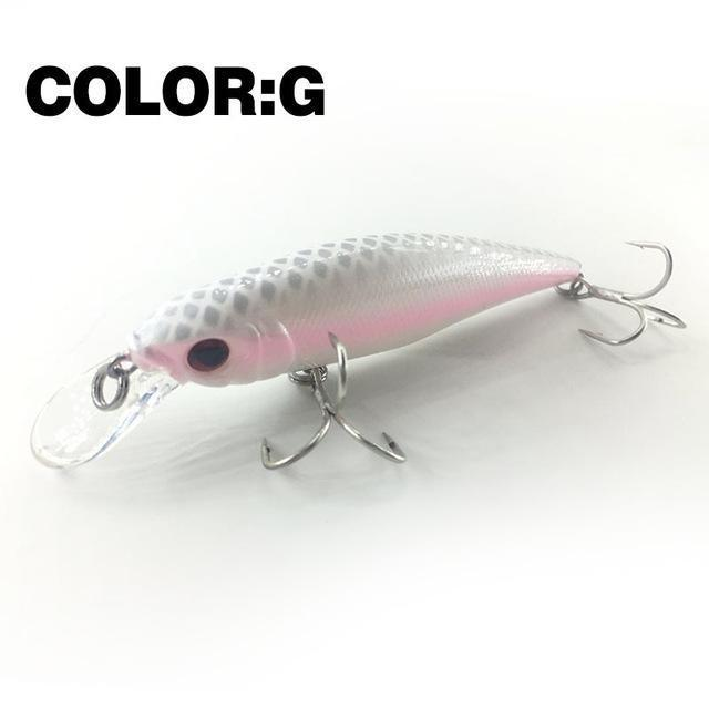 Mr.Charles Cmc021 Fishing Lure 95Mm/13.5G 0-1.0M Floating Super Sinking Minnow-MrCharles-COLOR G-Bargain Bait Box