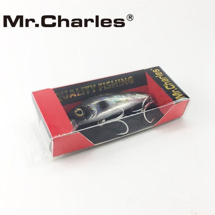 Mr.Charles Cmc022 Fishing Lure 65Mm/7.5G 0-0.8M Floating Super Sinking Minnow-MrCharles-A-Bargain Bait Box