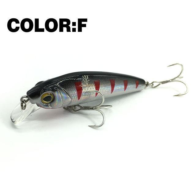 Mr.Charles Cmc022 Fishing Lure 65Mm/7.5G 0-0.8M Floating Super Sinking Minnow-MrCharles-F-Bargain Bait Box