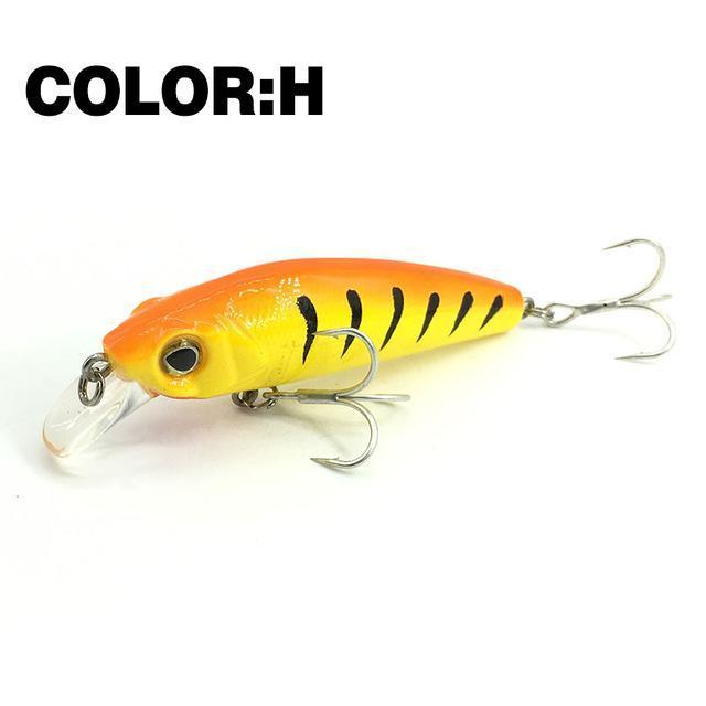 Mr.Charles Cmc022 Fishing Lure 65Mm/7.5G 0-0.8M Floating Super Sinking Minnow-MrCharles-H-Bargain Bait Box