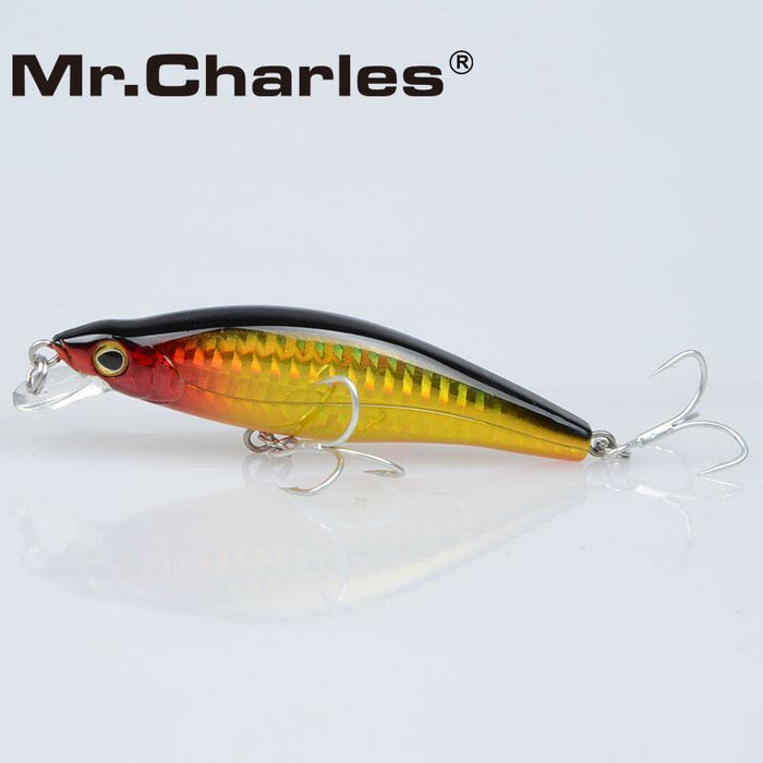 Mr.Charles Cmc024 Fishing Lure 88Mm/12G 0-1.0M Floating Shad Quality-MrCharles-COLOR A-Bargain Bait Box