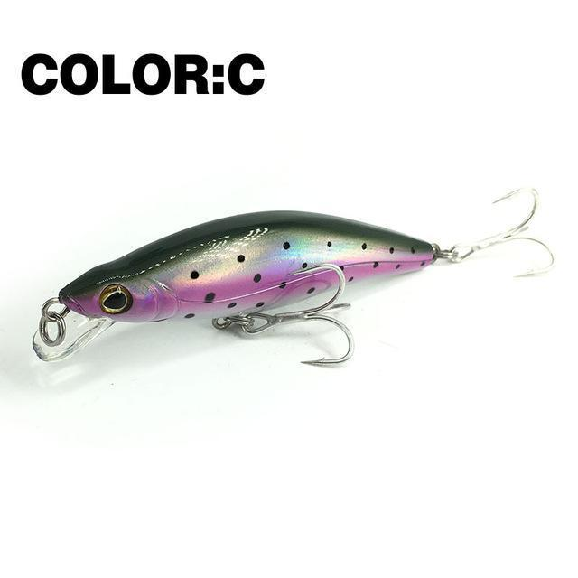 Mr.Charles Cmc024 Fishing Lure 88Mm/12G 0-1.0M Floating Shad Quality-MrCharles-COLOR C-Bargain Bait Box