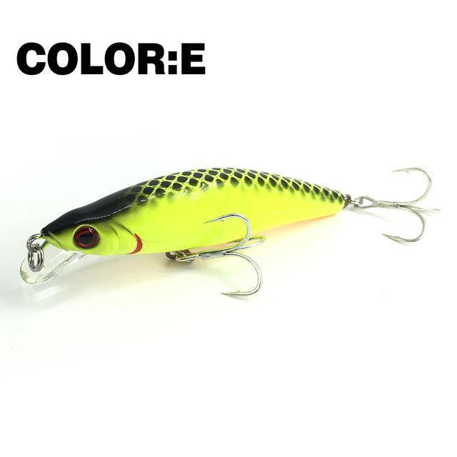 Mr.Charles Cmc024 Fishing Lure 88Mm/12G 0-1.0M Floating Shad Quality-MrCharles-COLOR E-Bargain Bait Box