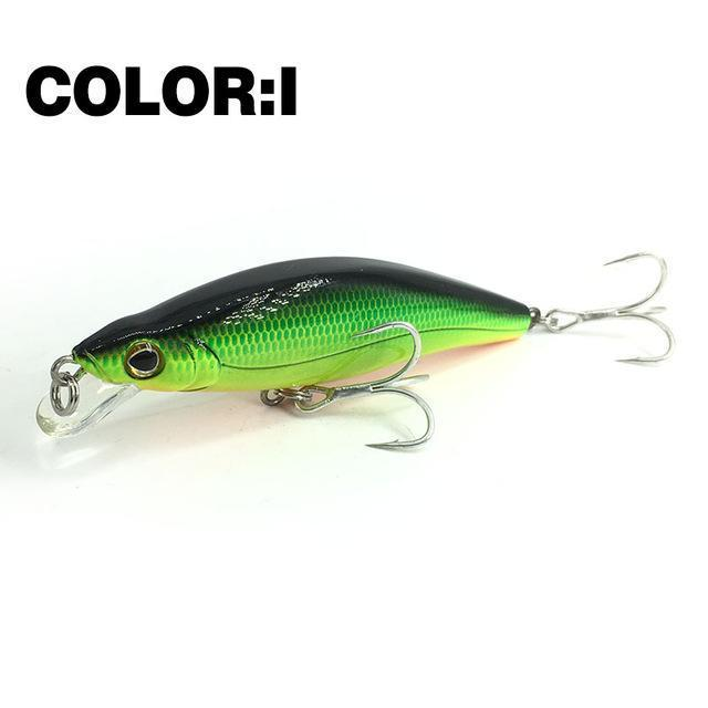 Mr.Charles Cmc024 Fishing Lure 88Mm/12G 0-1.0M Floating Shad Quality-MrCharles-COLOR I-Bargain Bait Box