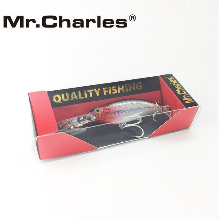 Mr.Charles Cmc032 Fishing Lure 75Mm/11.5G 0-2.0M Floating Shad Minnow Hard Baits-MrCharles-COLOR A-Bargain Bait Box