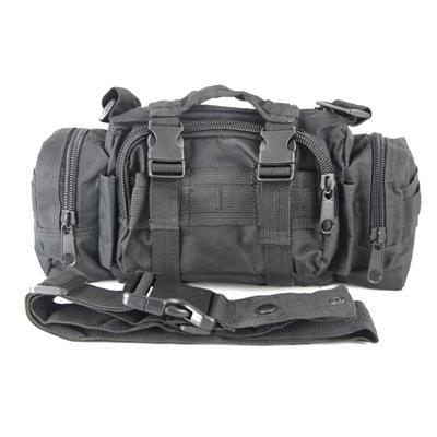 Multicam Camo Acu Military Tactical Waist Shoulder Pack Molle Assault Bags-Bags-Bargain Bait Box-Black-Bargain Bait Box