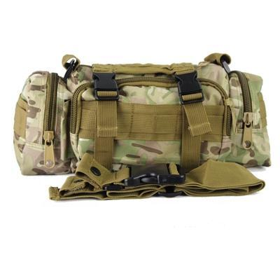 Multicam Camo Acu Military Tactical Waist Shoulder Pack Molle Assault Bags-Bags-Bargain Bait Box-CP-Bargain Bait Box