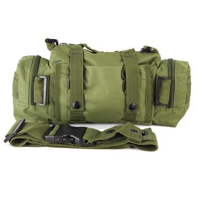 Multicam Camo Acu Military Tactical Waist Shoulder Pack Molle Assault Bags-Bags-Bargain Bait Box-Green-Bargain Bait Box