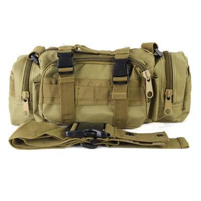 Multicam Camo Acu Military Tactical Waist Shoulder Pack Molle Assault Bags-Bags-Bargain Bait Box-Sand-Bargain Bait Box