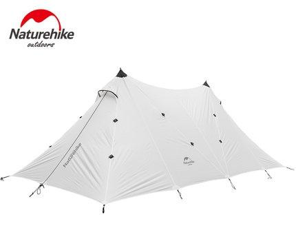 Naturehike 10 Person Large Camping Tent A Tower Tarp Outdoor Base Camp Tents-AliExpressOutdoor Store-white-Bargain Bait Box