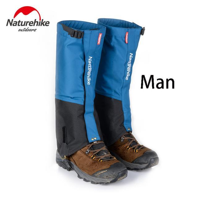 Naturehike 1Pair Leg Warmers Leg Gaiters Waterproof Climbing Hunting Trekking-Gaiters-Bargain Bait Box-Blue man-Bargain Bait Box