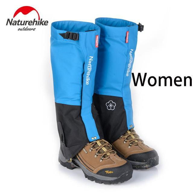 Naturehike 1Pair Leg Warmers Leg Gaiters Waterproof Climbing Hunting Trekking-Gaiters-Bargain Bait Box-Blue women-Bargain Bait Box