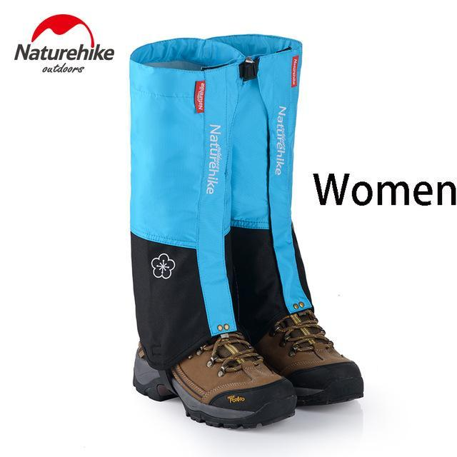 Naturehike 1Pair Leg Warmers Leg Gaiters Waterproof Climbing Hunting Trekking-Gaiters-Bargain Bait Box-Light Blue-Bargain Bait Box