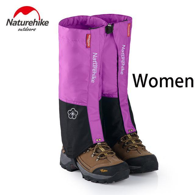 Naturehike 1Pair Leg Warmers Leg Gaiters Waterproof Climbing Hunting Trekking-Gaiters-Bargain Bait Box-Light Purple-Bargain Bait Box