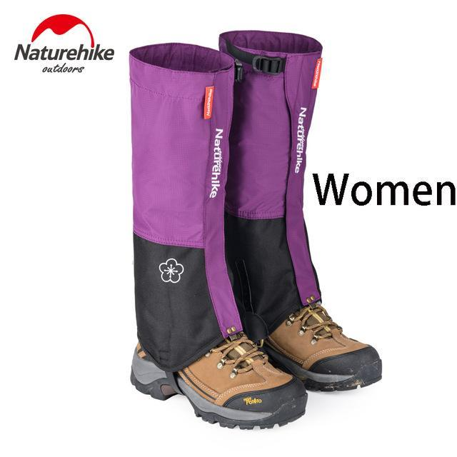 Naturehike 1Pair Leg Warmers Leg Gaiters Waterproof Climbing Hunting Trekking-Gaiters-Bargain Bait Box-Purple-Bargain Bait Box