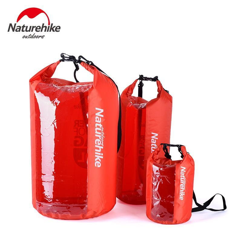 Naturehike 1Pc Water Resistant Waterproof Dry Bag Pack For Floating Boating-Dry Bags-Bargain Bait Box-1 Pc 5L Red-Bargain Bait Box