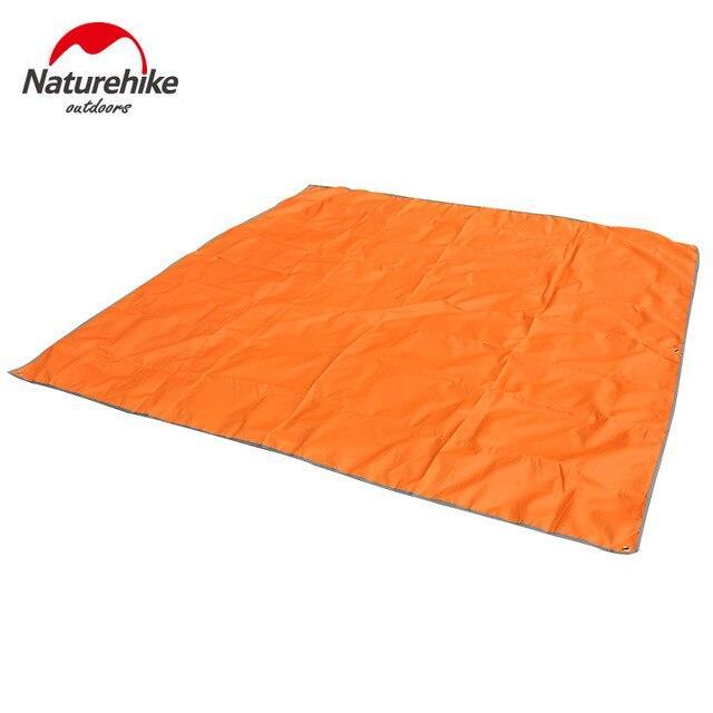 Naturehike Nh15D005 X Outdoor Tent Picnic Mat Beach Blanket Ground Cover For 3 4-Camping Mat-YOUGLE store-Orange-Bargain Bait Box