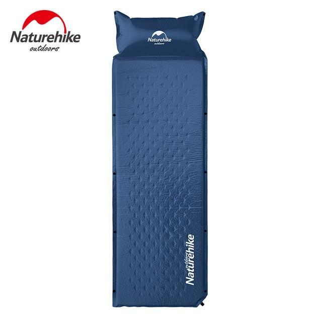 Naturehike Nh15Q002 D Sleeping Mattress Self Inflating Pad Portable Bed With-Camping Mat-YOUGLE store-Blue-Bargain Bait Box