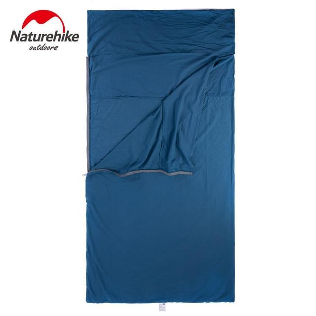 Naturehike Nh15S012 D Envelope Sleeping Bag Liner Cotton Ultralight Portable-Sleeping Bags-YOUGLE store-L Bule-Bargain Bait Box