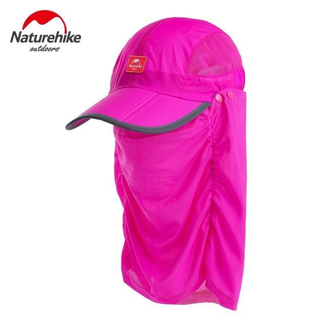 Naturehike Unti-Uv Sunscreen Fishing Caps Breathable Hat For Men Women Camping-Hats-Bargain Bait Box-Rose-M-Bargain Bait Box