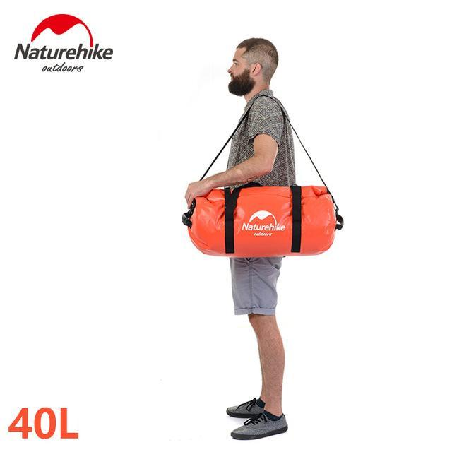 Naturehike Waterproof Dry Bag For Sports Swimming Boating, Camping And-Dry Bags-Bargain Bait Box-Orange-Bargain Bait Box