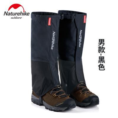 Naturehike Waterproof Snow Covers High Meadows Skiing Gaiters Boots Shoes Covers-Gaiters-Bargain Bait Box-Black MEN-Bargain Bait Box