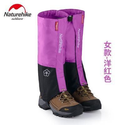 Naturehike Waterproof Snow Covers High Meadows Skiing Gaiters Boots Shoes Covers-Gaiters-Bargain Bait Box-carmine WOMEN-Bargain Bait Box