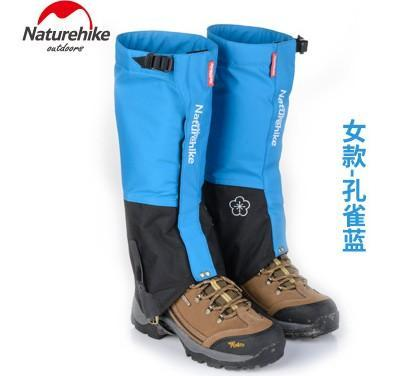 Naturehike Waterproof Snow Covers High Meadows Skiing Gaiters Boots Shoes Covers-Gaiters-Bargain Bait Box-Peacock Blue Women-Bargain Bait Box