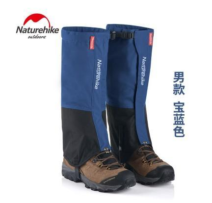 Naturehike Waterproof Snow Covers High Meadows Skiing Gaiters Boots Shoes Covers-Gaiters-Bargain Bait Box-Royal Blue MEN-Bargain Bait Box