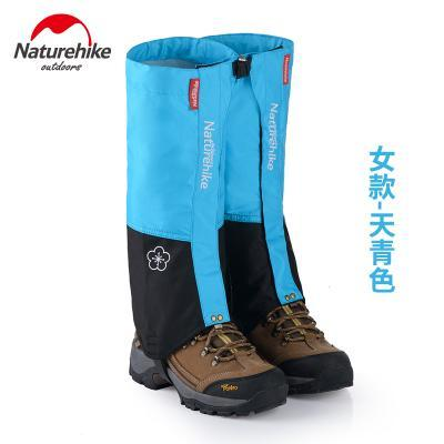 Naturehike Waterproof Snow Covers High Meadows Skiing Gaiters Boots Shoes Covers-Gaiters-Bargain Bait Box-Sky blue WOMEN-Bargain Bait Box