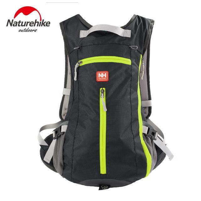 [Naturehike] Waterproof Ultralight Rucksack Bike Camping Climbing Backpack 15L 5-Backpacks-Bargain Bait Box-Black-Other-Bargain Bait Box